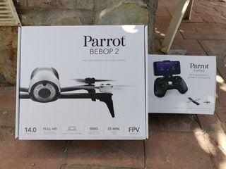 Drone Parrot Bebot 2 con mando Flypad