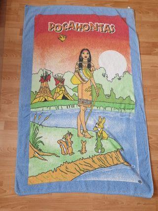 toalla de rizo pocahontas