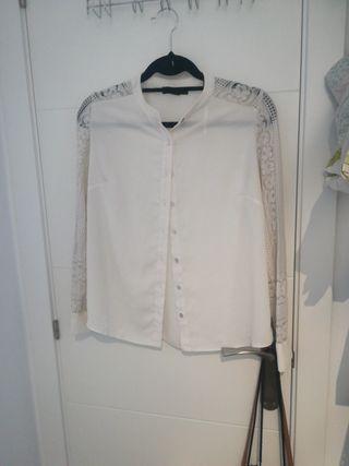 camisa encaje