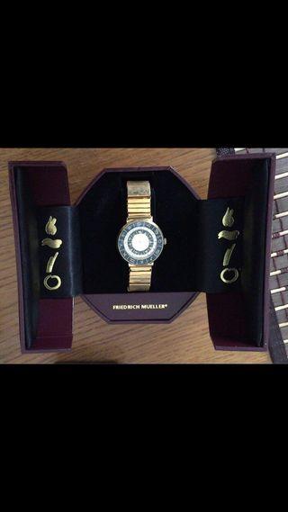 Reloj señora Friedrich Mueller Zodiaco
