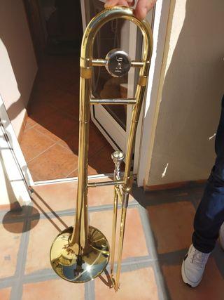 Trombón de baras