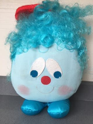 Muñeco peluche antiguo años 80