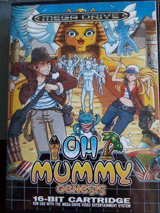 oh mummy megadrive
