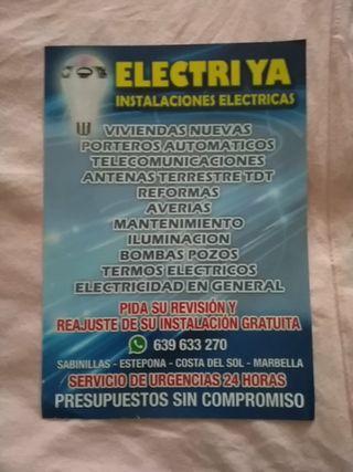 Instalaciones Electricas Electri ya