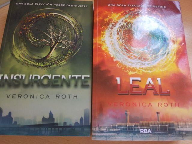 cf8a3caf53 Libros saga Divergente: Insurgente y Leal de segunda mano por 30 ...