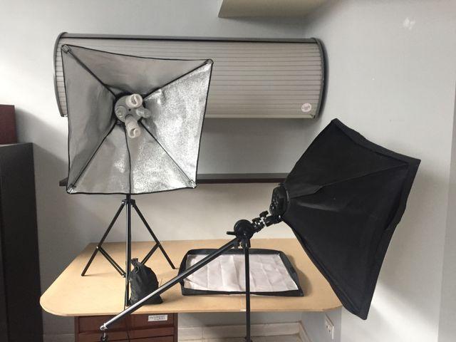 Kit iluminación profesional fotografía