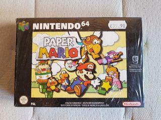 Paper Mario Nuevo Precintado Nintendo 64