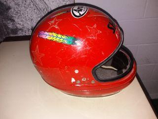 casco de moto o similiar
