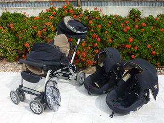 Carrito gemelar Twin Two Jané