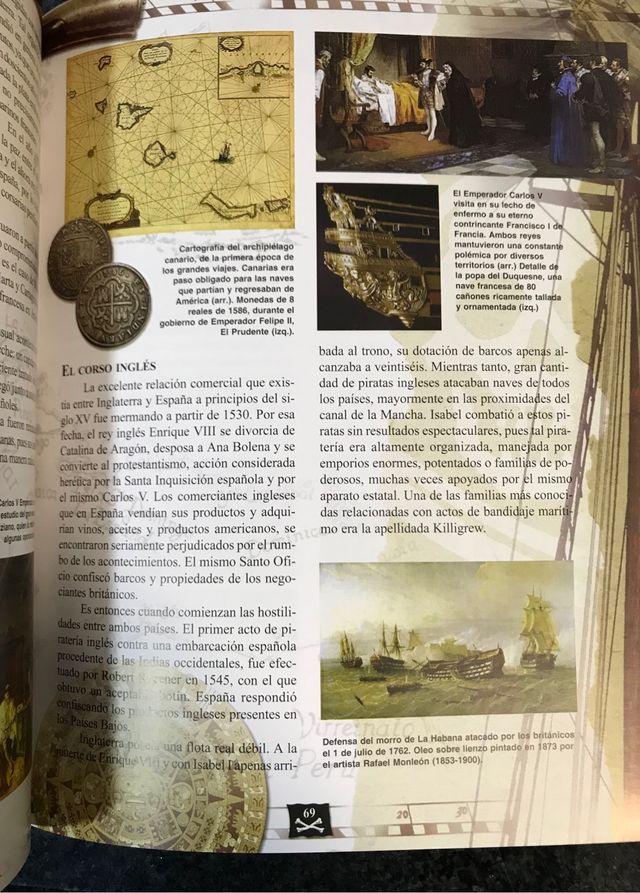 Libro de piratas