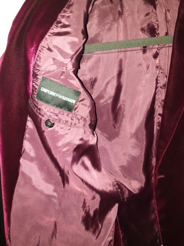 Armani vintage velvet jacket