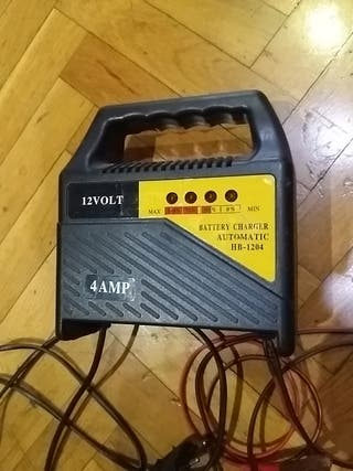cargador baterías automatico