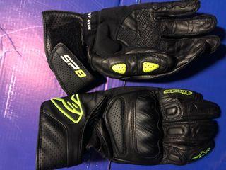 alpinestars guantes de cuero