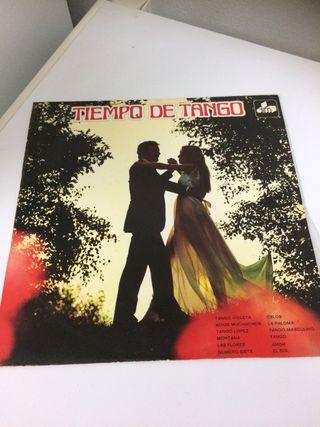 Disco vinilo Tiempo de Tango 1971