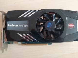 GPU ATI Radeon HD 6850 1GB DDR5