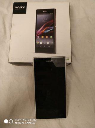 Sony Xperia Z1 para piezas con caja.