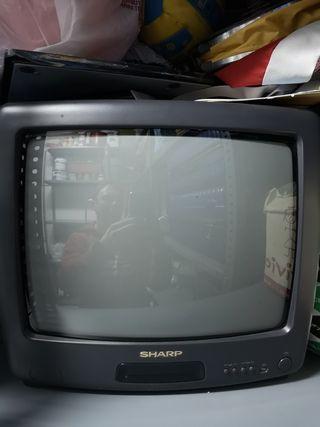 Televisión pequeña.