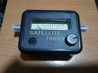 Medidor buscador de satélites antena parabólica