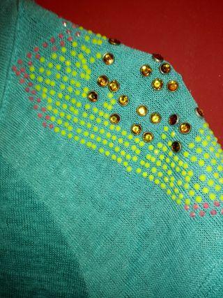 camiseta turquesa S