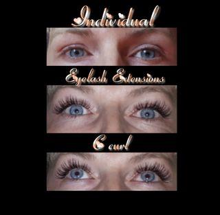 Eyelash Extensions, Facial, Waxing