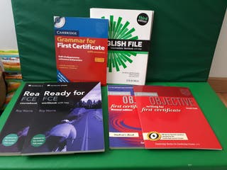 Pack libros aprendizaje inglés First Certificate