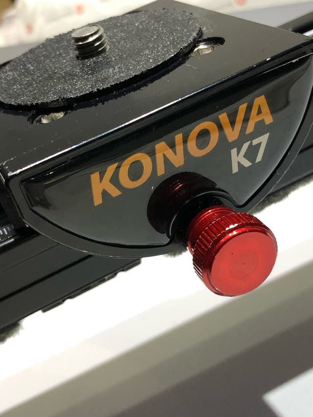 Carril Slider Konova k7 impecable 100cm.
