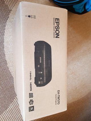 Proyector EPSON EH-TW570 3D sin estrenar
