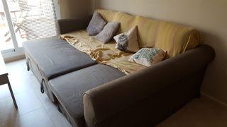 sofá-cama con arcon