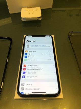 Iphone X Gris espacial 256gb LIBRE applecare 2020