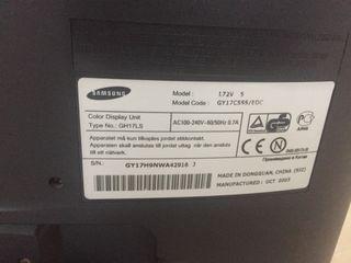 """Pantalla Monitor PC Samsung 17"""""""