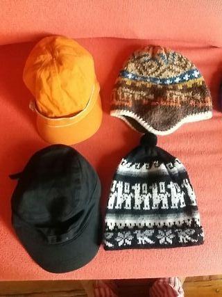 gorras y gorros
