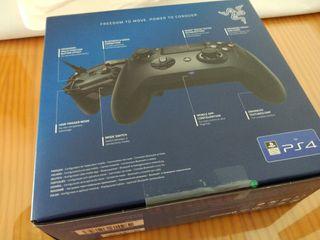 MANDO PS4 PC RAZER RAIJU TOURNAMENT NUEVO PRECINTA