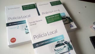 pack temarios y test policia local