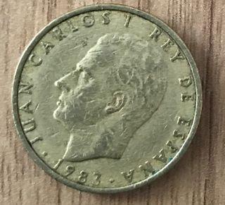 Moneda 100 pesetas de 1983