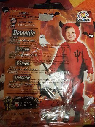 Disfraz demonio (92-104 cm)