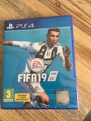 PS4 FIFA 19 nuevo. Sin abrir