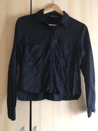 Camisa negra de Zara