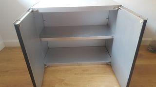 armario de aluminio. interio/exterior