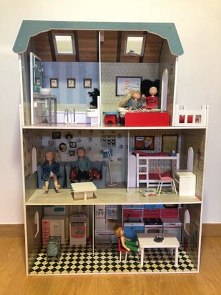 Casa de muñeca Amanda