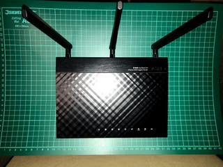 Router Wifi Asus RT-N66U Dual-Band N900 Gigabit