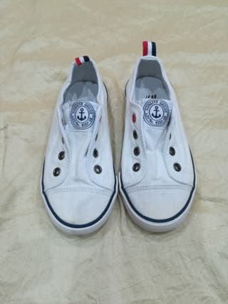 zapatillas tipo converse niño