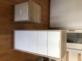 Dos cómodas de 5 y 2 cajones de IKEA