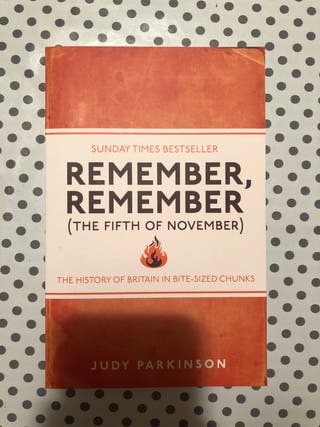 Remember, Remember (libro/book)