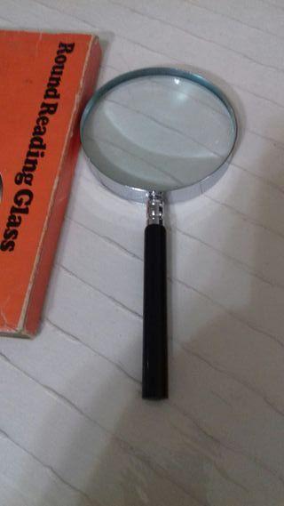lupa lente sin ningún arañazo