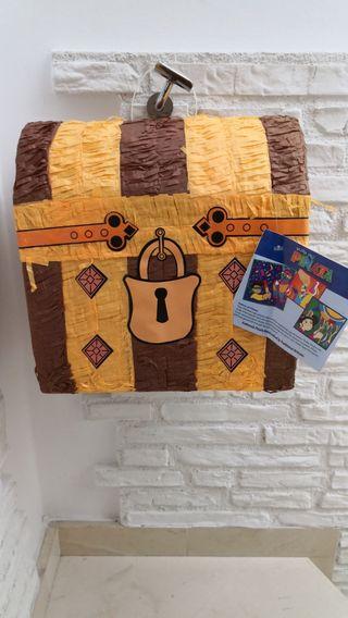 Piñata cofre pirata