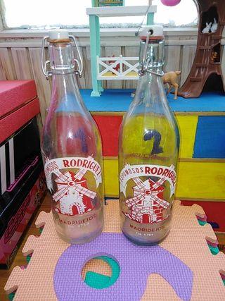 Lote botellas antiguas