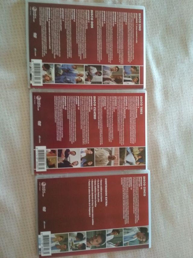 Serie DVD Anatomía de grey cuarta temporada. de segunda mano por 15 ...