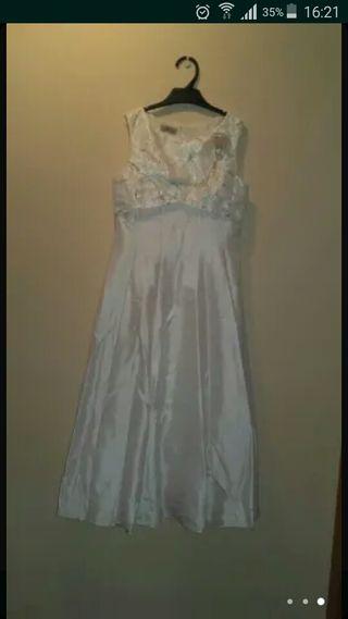 vestido dama de honor o para comunion