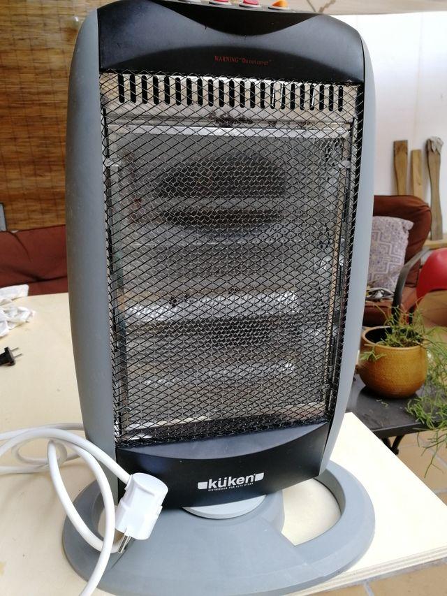 Calefactor eléctrico halógeno