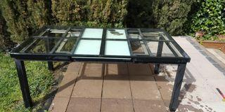 mesa plegable de aluminio